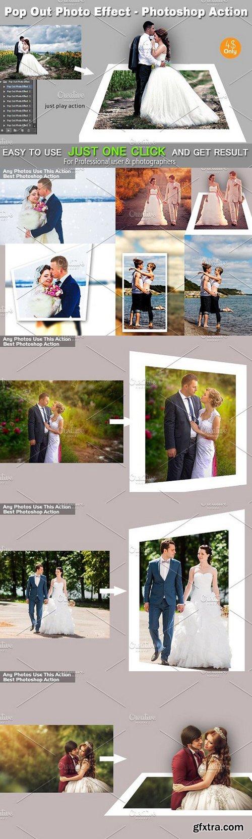 CM - Pop Out Photo Effect PS Action 1673858