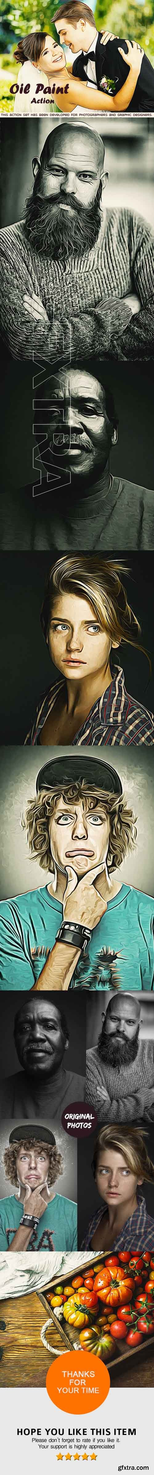 GraphicRiver - Oil Paint Action - Photoshop Action 20393418