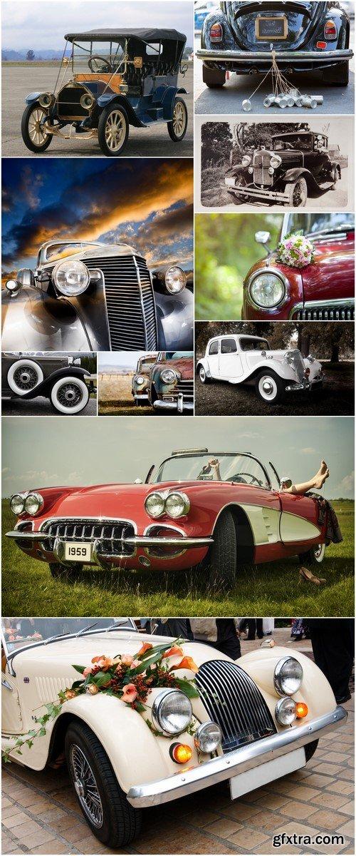 Retro cars # 1 10X JPEG