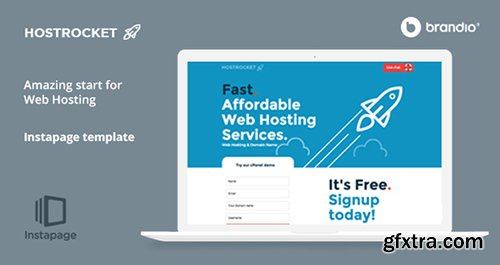 ThemeForest - Host Rocket Instapage Template - Web Hosting v1.2.2 - 10433799