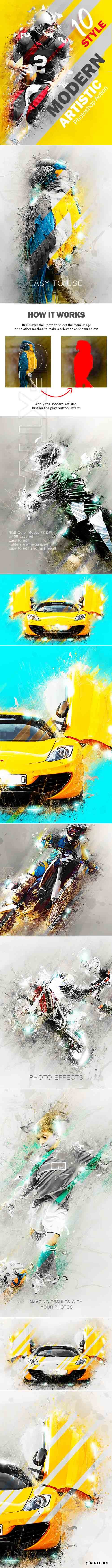 GraphicRiver - Modern Artistic Photoshop Action 20381155