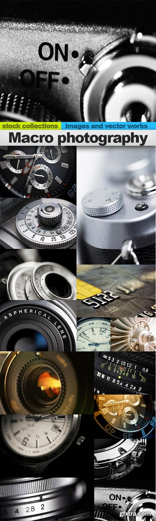 Macro photography, 15 x UHQ JPEG