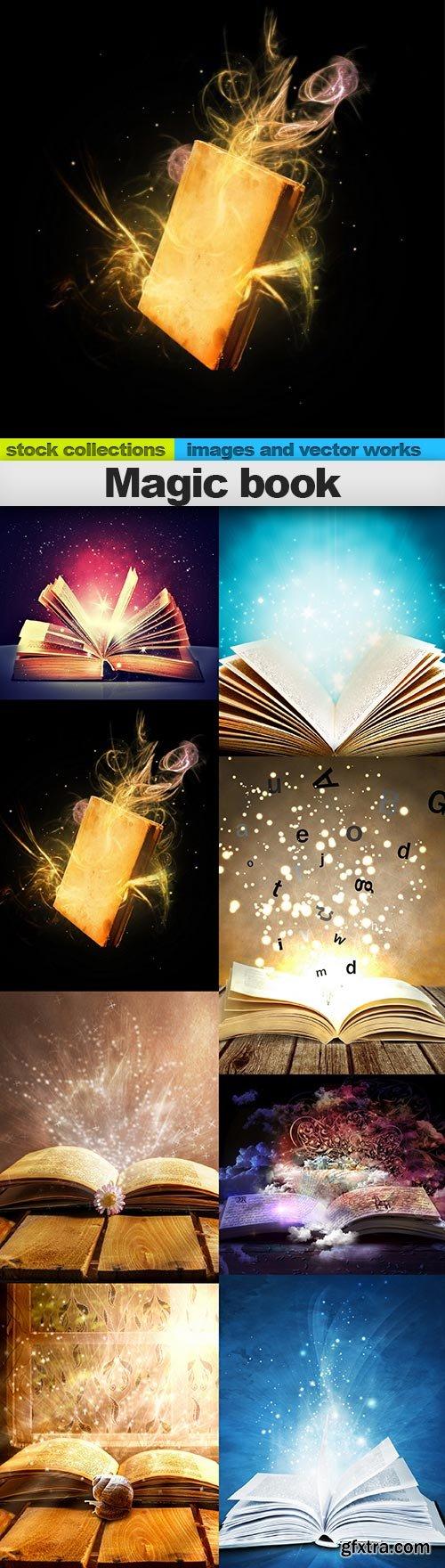 Magic book, 08 x UHQ JPEG