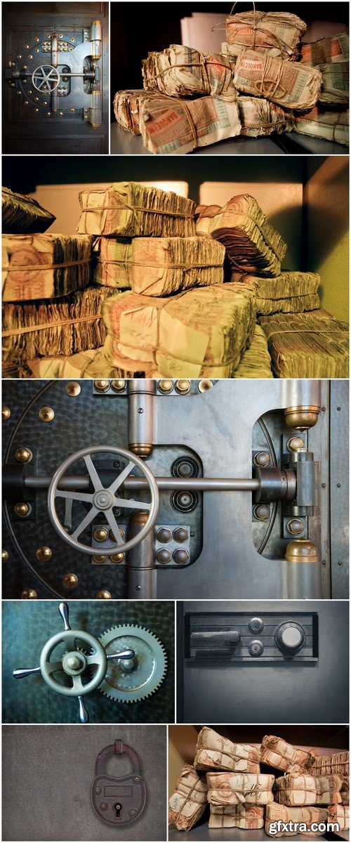Safes with money