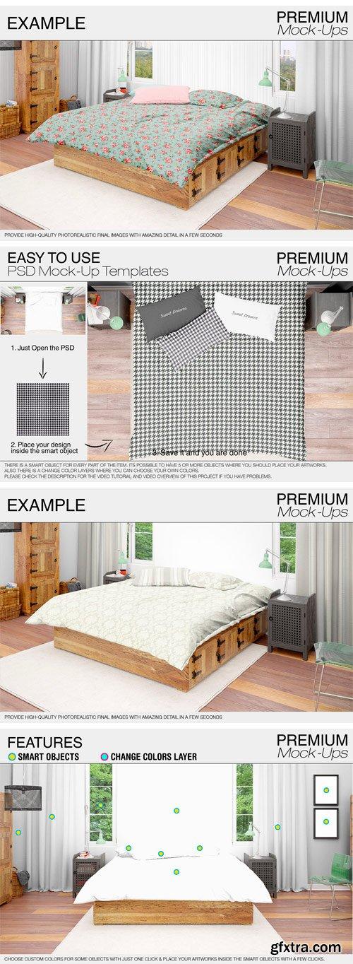 CM - Bedding Mockup Set 1758570