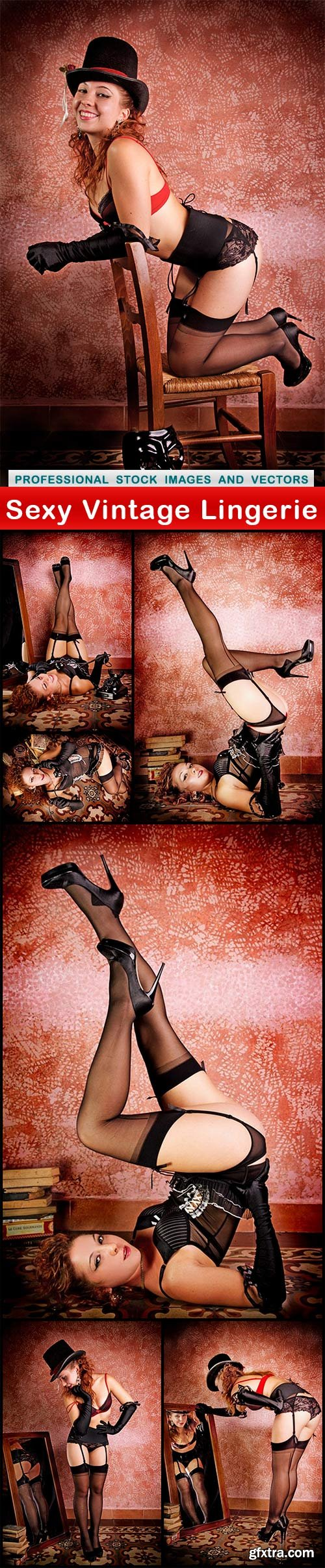 Sexy Vintage Lingerie - 7 UHQ JPEG