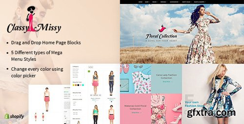 ThemeForest - Classy Missy v1.2 - A Fashion Store Shopify Theme - 19248818