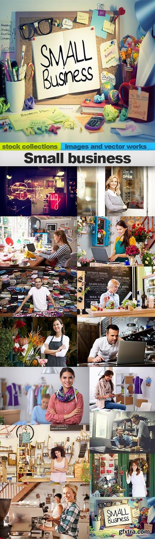 Small business, 15 x UHQ JPEG