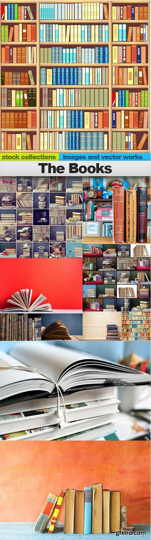 The Books, 10 x UHQ JPEG