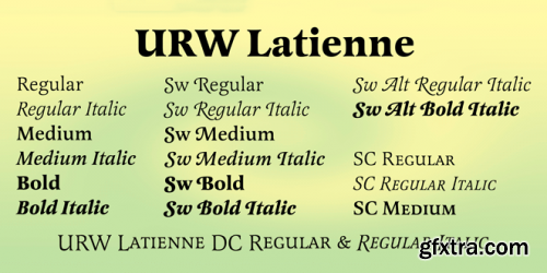 Latienne Font Family