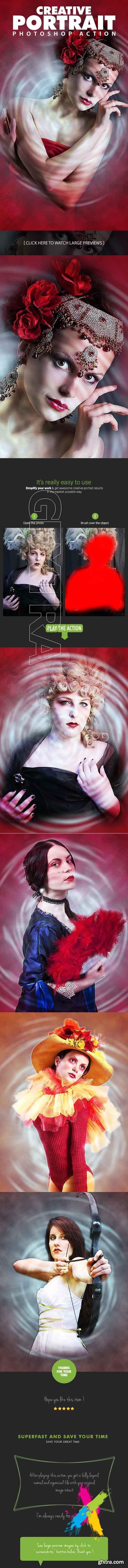 GraphicRiver - Creative Portrait Photoshop Action 20461594