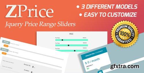 CodeCanyon - ZPrice v1.0 - Jquery Price Range Sliders - 19885625