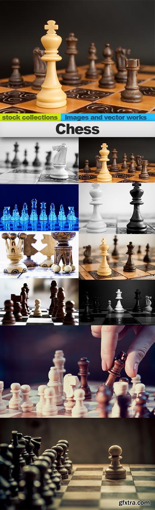 Chess, 10 x UHQ JPEG