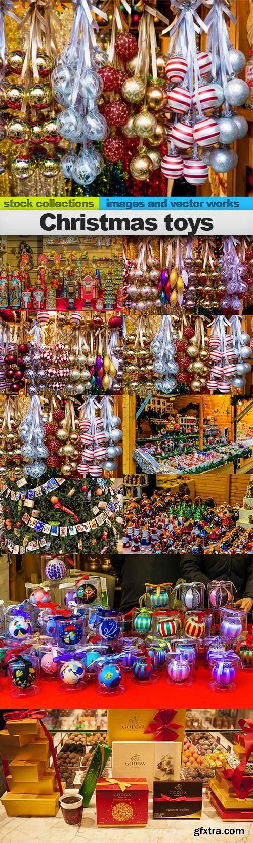 Christmas toys, 10 x UHQ JPEG