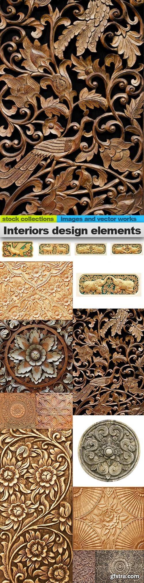 Interiors design elements, 15 x UHQ JPEG