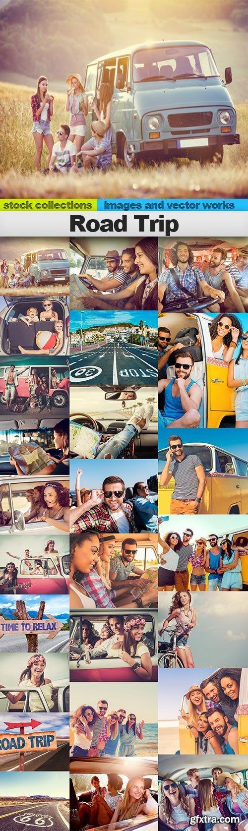 Road Trip, 25 x UHQ JPEG