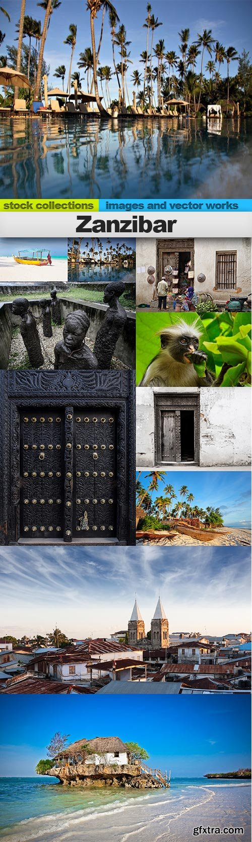 Zanzibar, 10 x UHQ JPEG