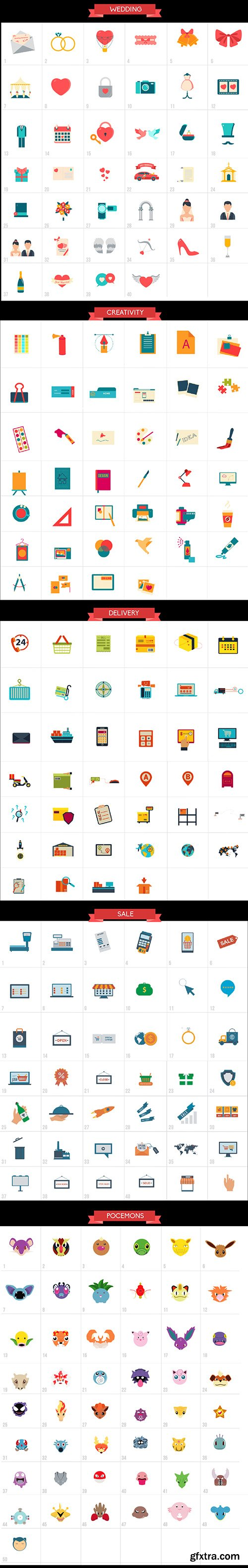 Videohive 2300 Animated Icons Pack 18383303