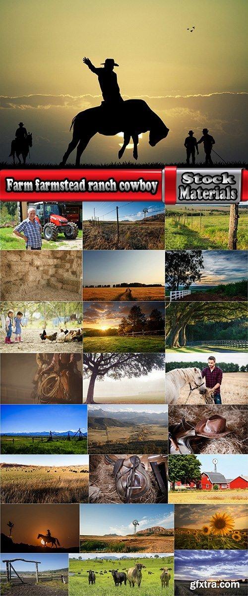 Farm farmstead ranch cowboy shepherd cattle cow horse 25 HQ Jpeg
