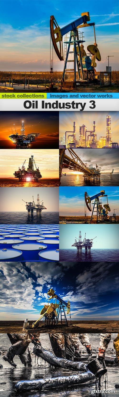 Oil Industry 3, 10 x UHQ JPEG