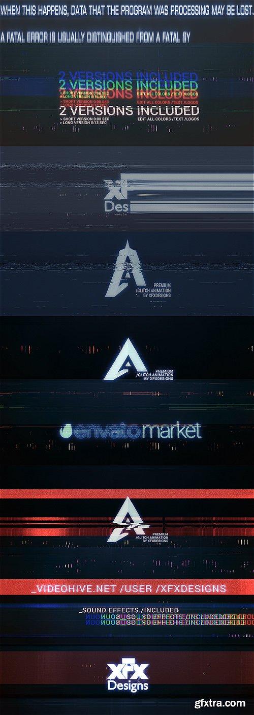 Videohive The Ultimate Glitch Logo Intro V2 | Fatal Error 19929250