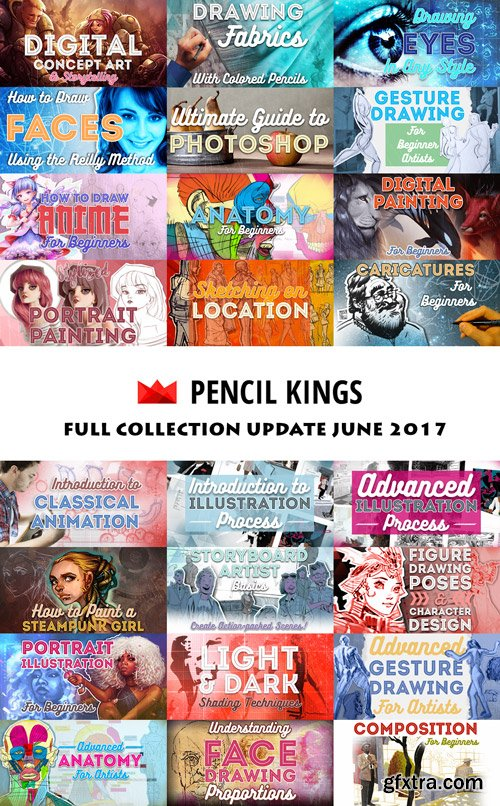 PencilKings - Full Collection June 2017