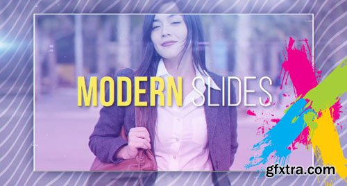 Modern Slides - After Effects