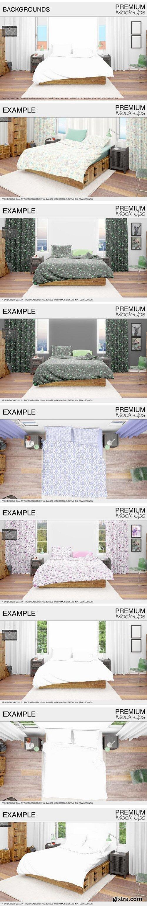 CM - Bedding Mockup Set 1760649