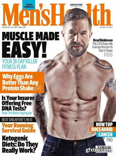 Men\'s Health Singapore - October 2017