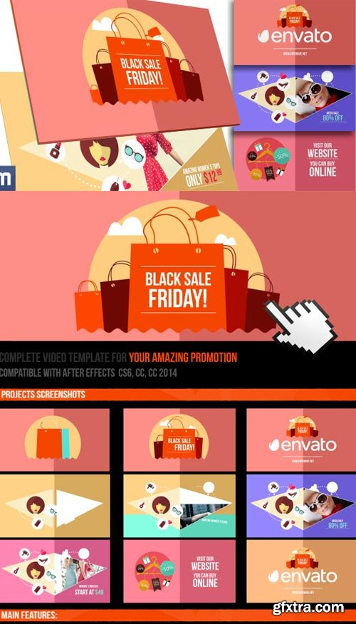Videohive - Black Friday Sale - Online Promo - 9793777