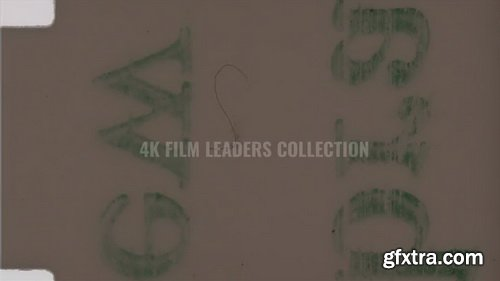 FlmL00ks - 4k 16mm head and tail film leaders collection
