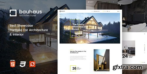 ThemeForest - Bauhaus v1.2 - Architecture & Interior Drupal 8 Theme - 20200606