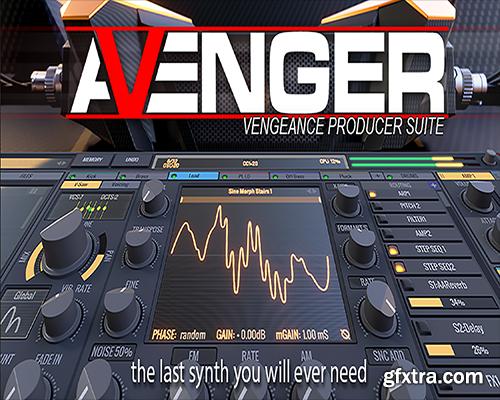 Vengeance Producer Suite Avenger v1.2.2 Incl Expansion MacOSX-iND