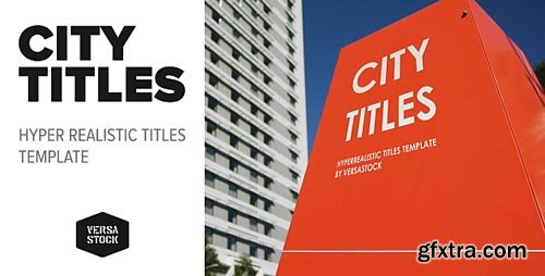 Videohive - City Titles | Realistic Titles Opener - 20474507
