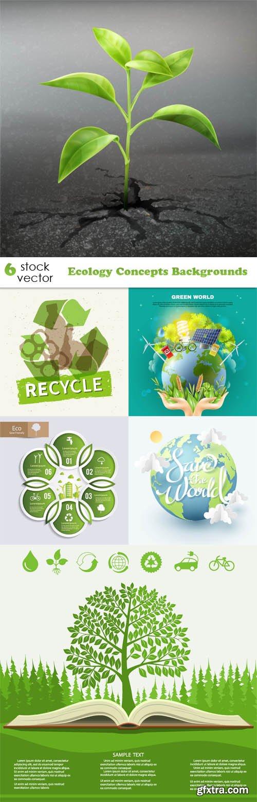 Vectors - Ecology Concepts Backgrounds