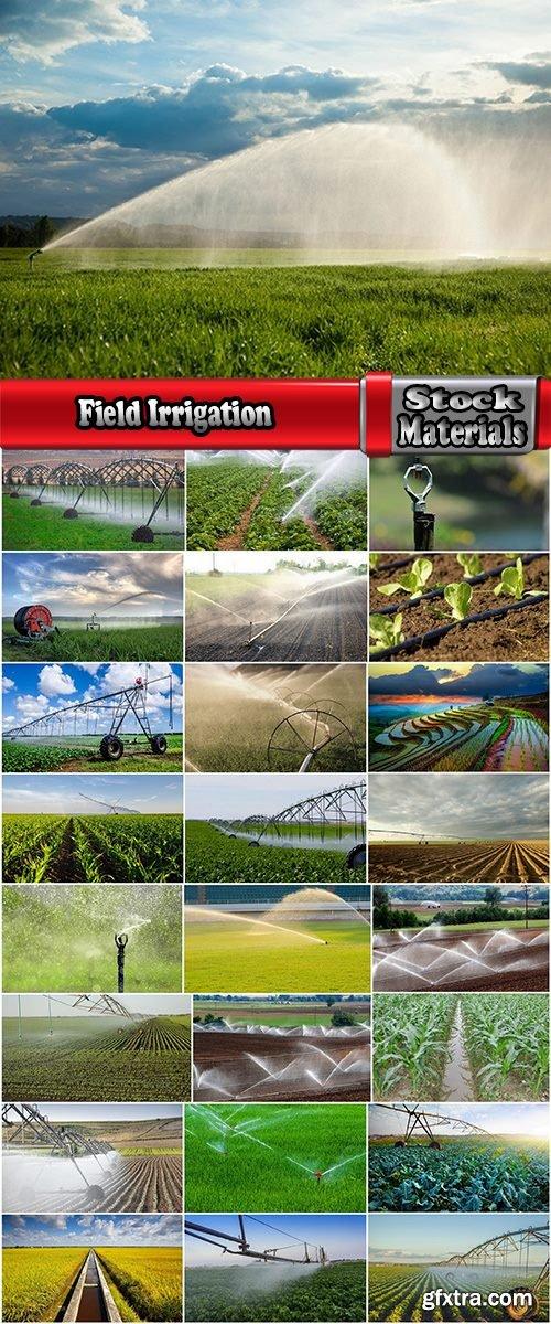 Field Irrigation System watering plants drainage system 25 HQ Jpeg