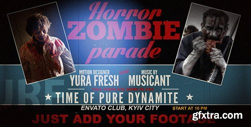 Videohive Horror Zombie Parade 5791718