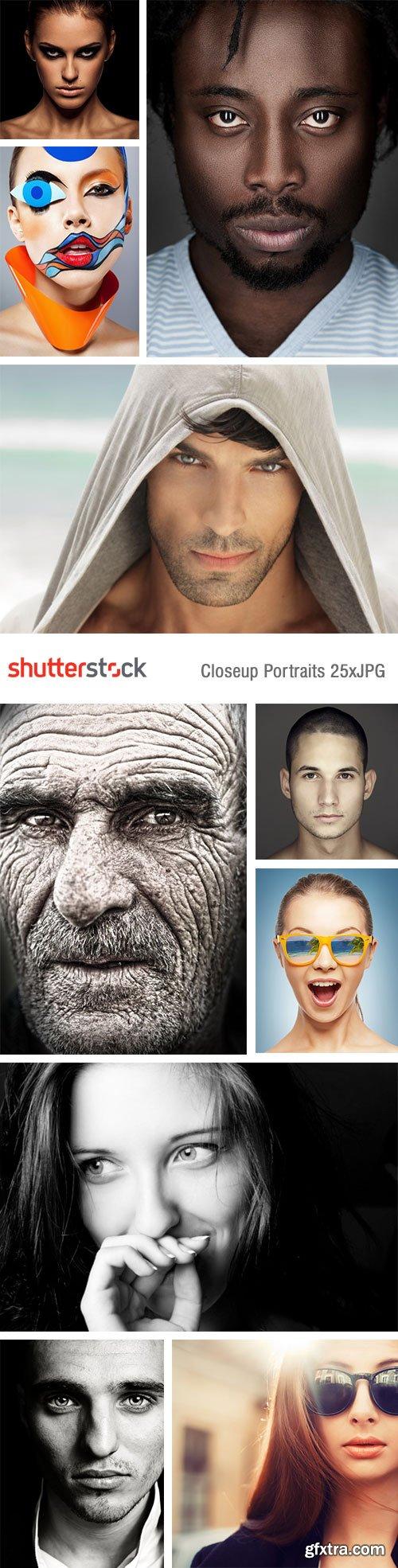 Closeup Portraits 25xJPG