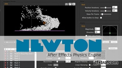 Motion Boutique Newton 2.2.11 Plugin for Adobe After Effects