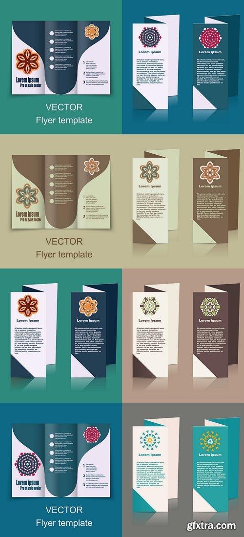 Brochures design vector