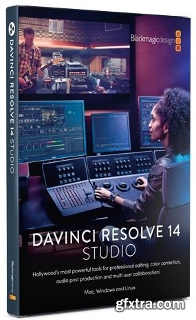 BlackmagicDesign Davinci Resolve Studio 14.0.0 LiNUX