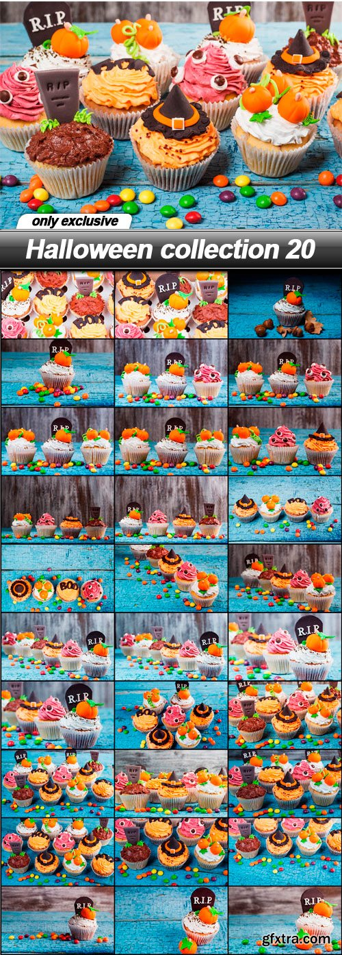 Halloween collection 20 - 30 UHQ JPEG
