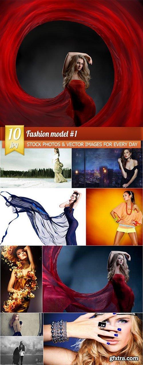 Fashion model #1, 10 x UHQ JPEG