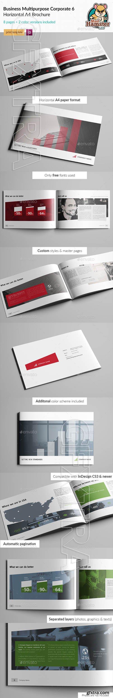 GraphicRiver - Business Corporate Multi-purpose A4 Brochure 6