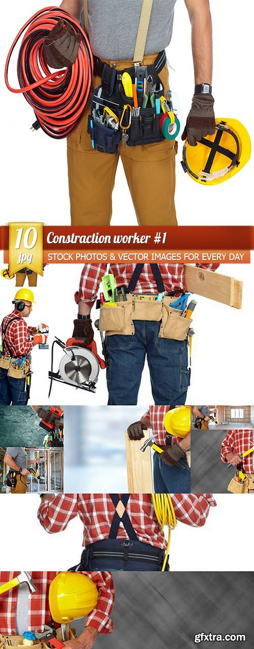 Constraction worker 1, 10 x UHQ JPEG