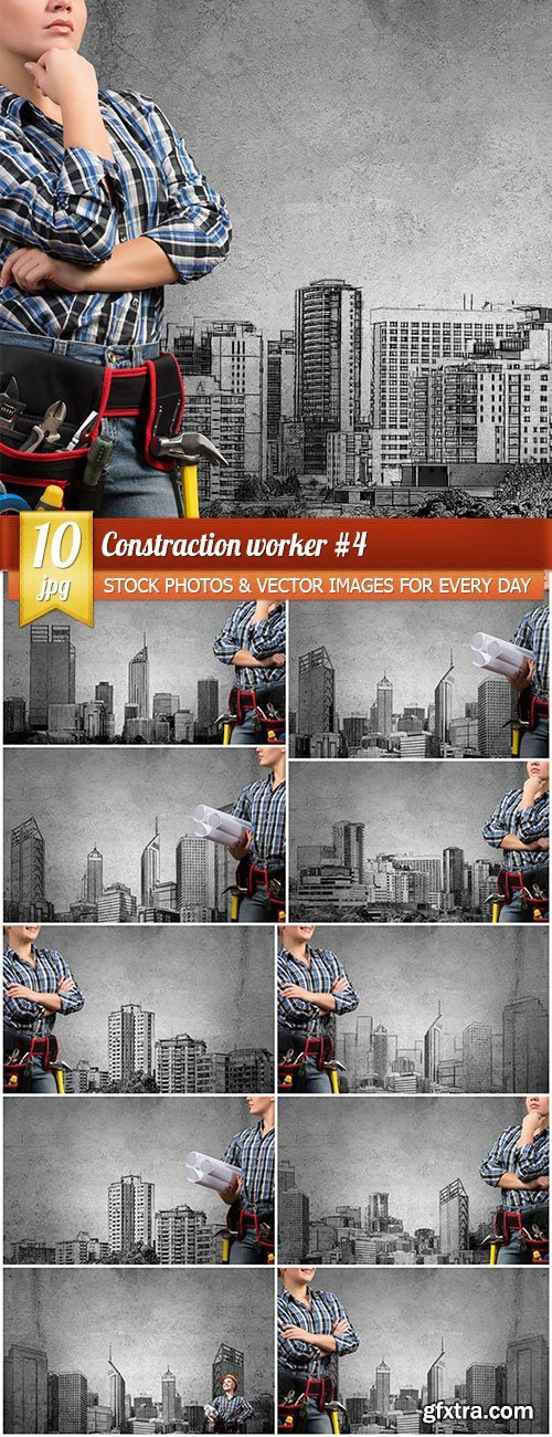 Constraction worker 4, 10 x UHQ JPEG
