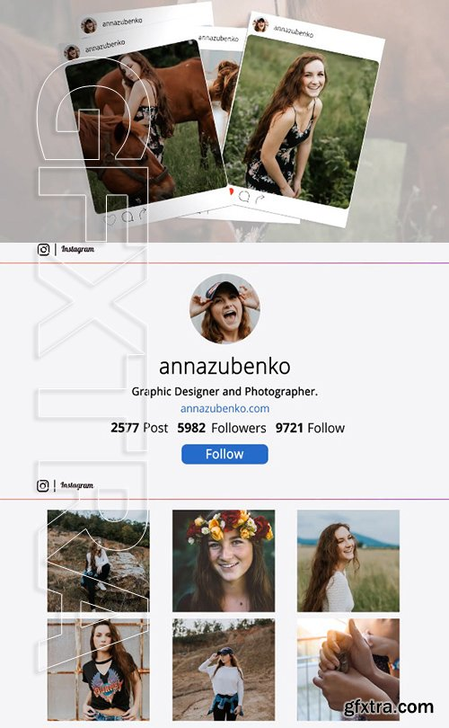 Slideshow Instagram - After Effects