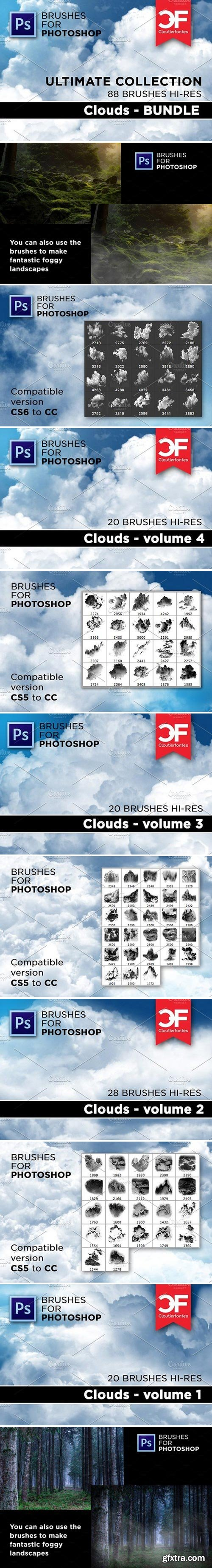 CM - Ultimate Clouds brushes Collection 1853509