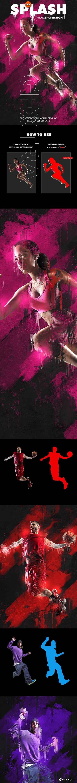 GraphicRiver - Ink Splash Photoshop Action 20720959