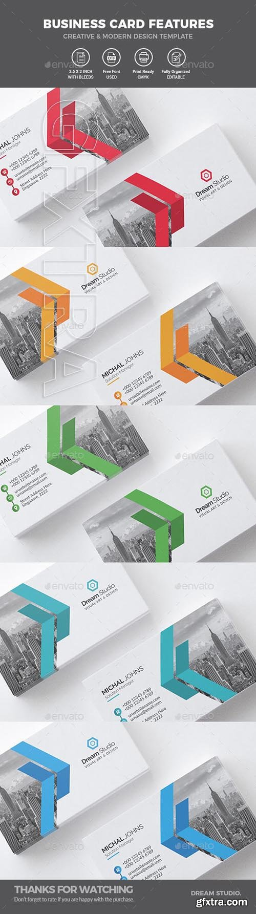 GraphicRiver - Business Cards 20710826